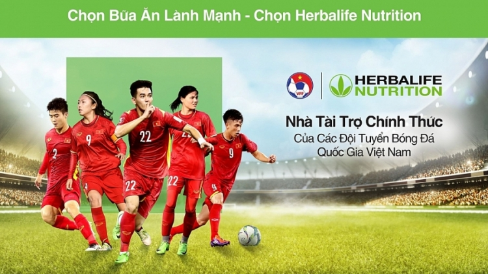 Herbalife Vietnam to sponsor national football team