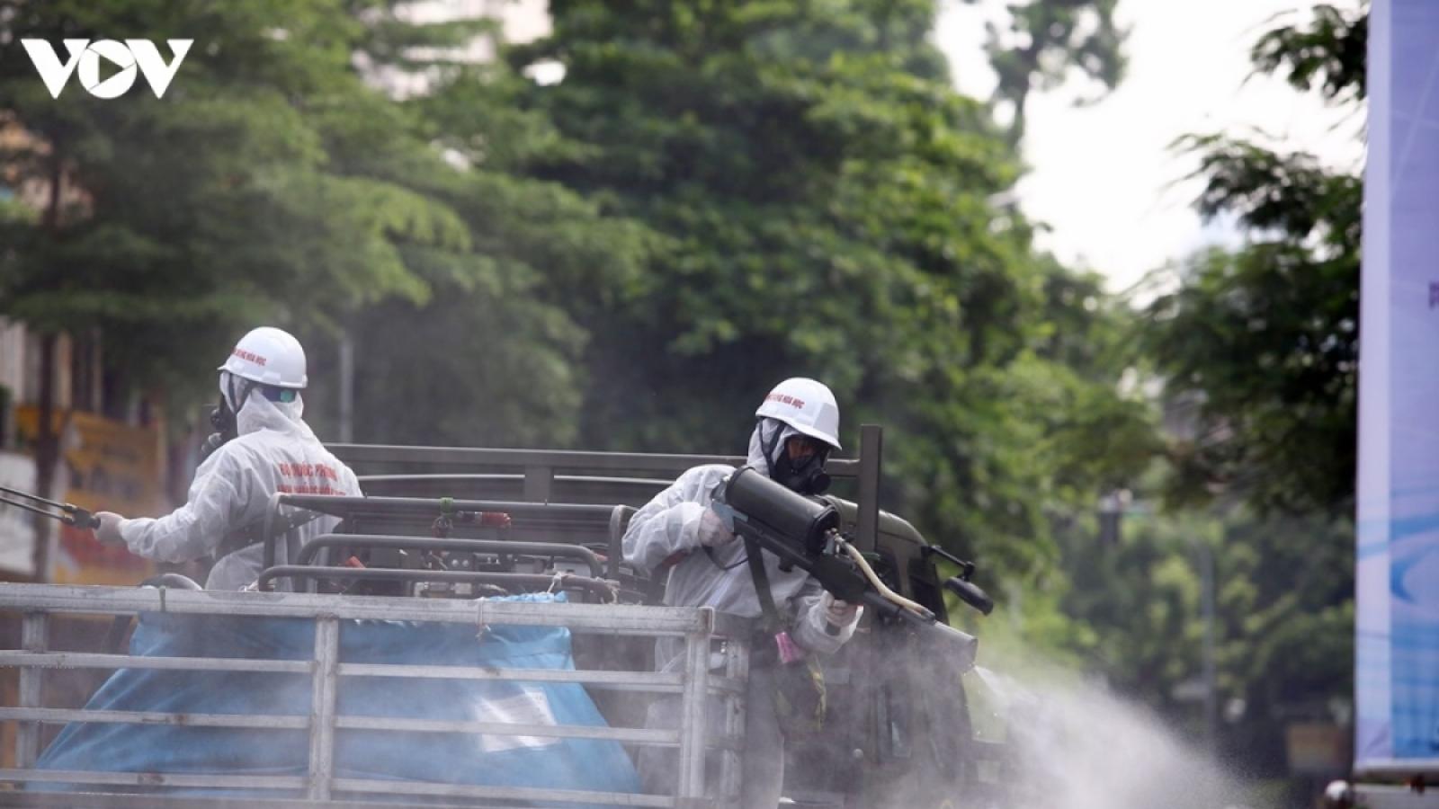 Ngày 26/7, Hà Nội ghi nhận 64 trường hợp dương tính với SARS-CoV-2