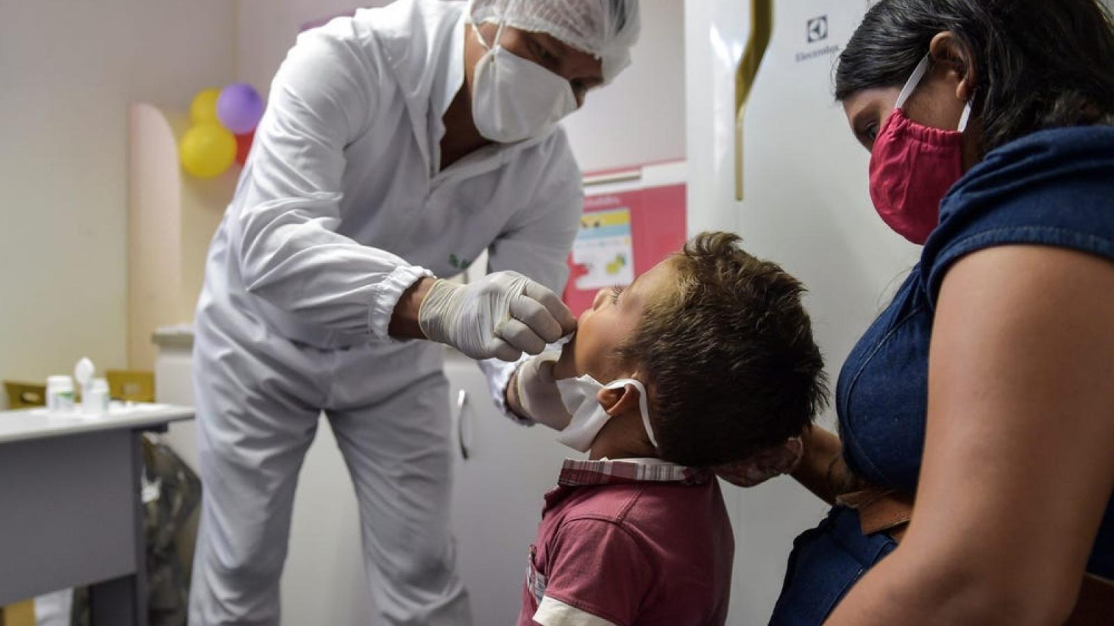 Lý do khiến tỷ lệ trẻ em tử vong do Covid-19 ở Brazil tăng cao bất thường