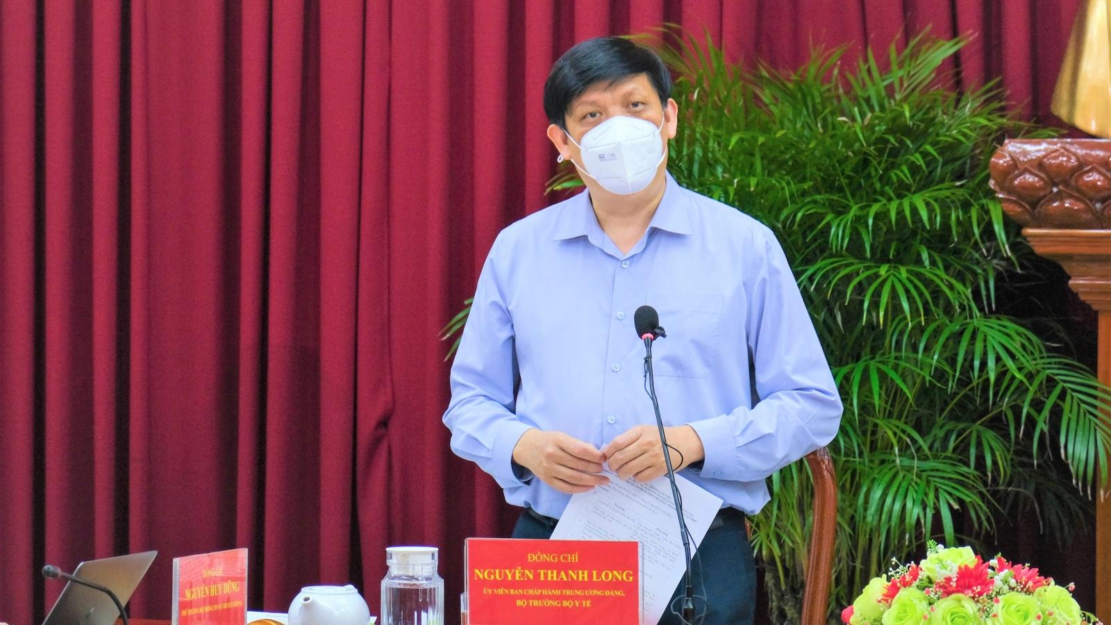 Bộ trưởng Y tế: Cần Thơ tổ chức tiêm vaccine Covid-19 càng nhanh càng tốt