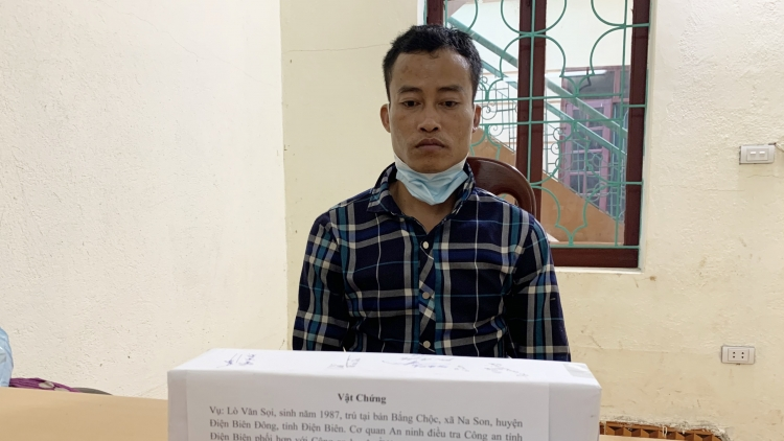 Công an Điện Biên bắt giữ 2 đối tượng mua bán trái phép vật liệu nổ
