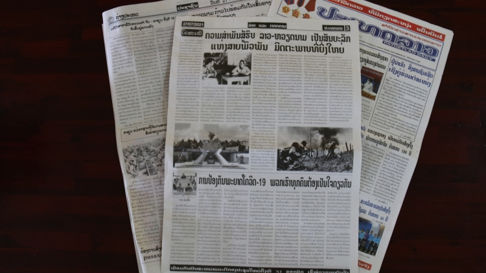 Truyền thông Lào đánh giá cao công lao to lớn của quân tình nguyện Việt Nam