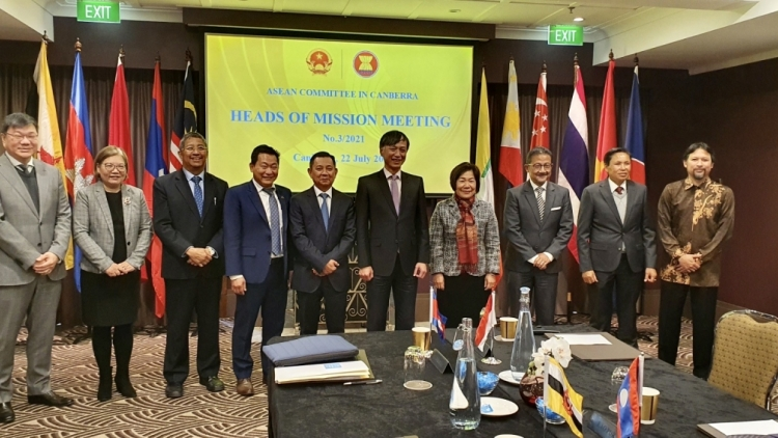 ASEAN seeks to promote strategic partnership with Australia