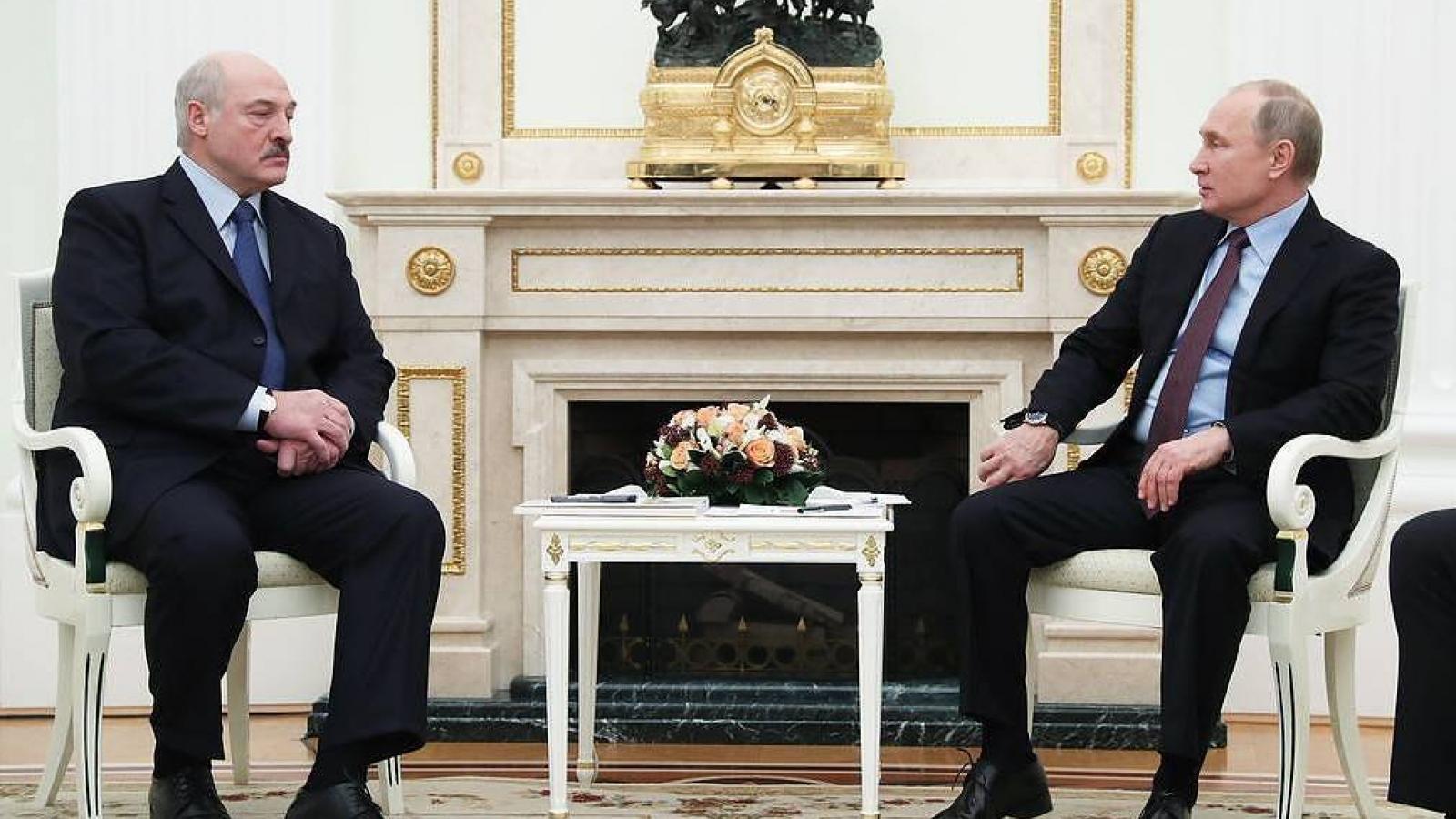 Nga và Belarus phát triển kế hoạch chung chống lại các lệnh trừng phạt của phương Tây