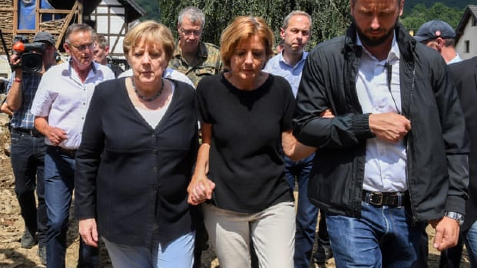 Đức chi hàng tỷ euro trợ giúp và tái thiết các vùng bị lũ lụt tàn phá