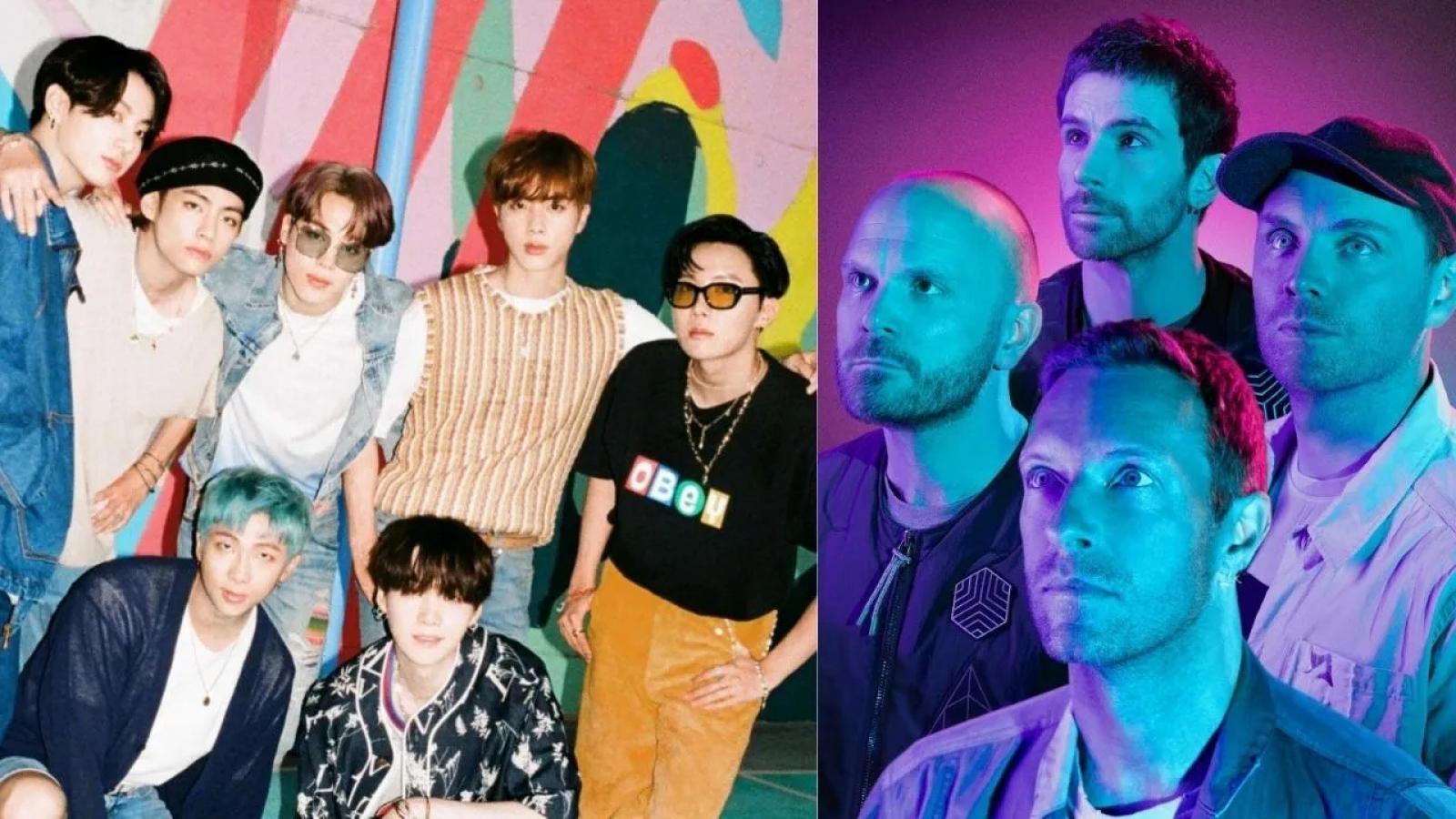 BTS góp giọng trong album mới của Coldplay?
