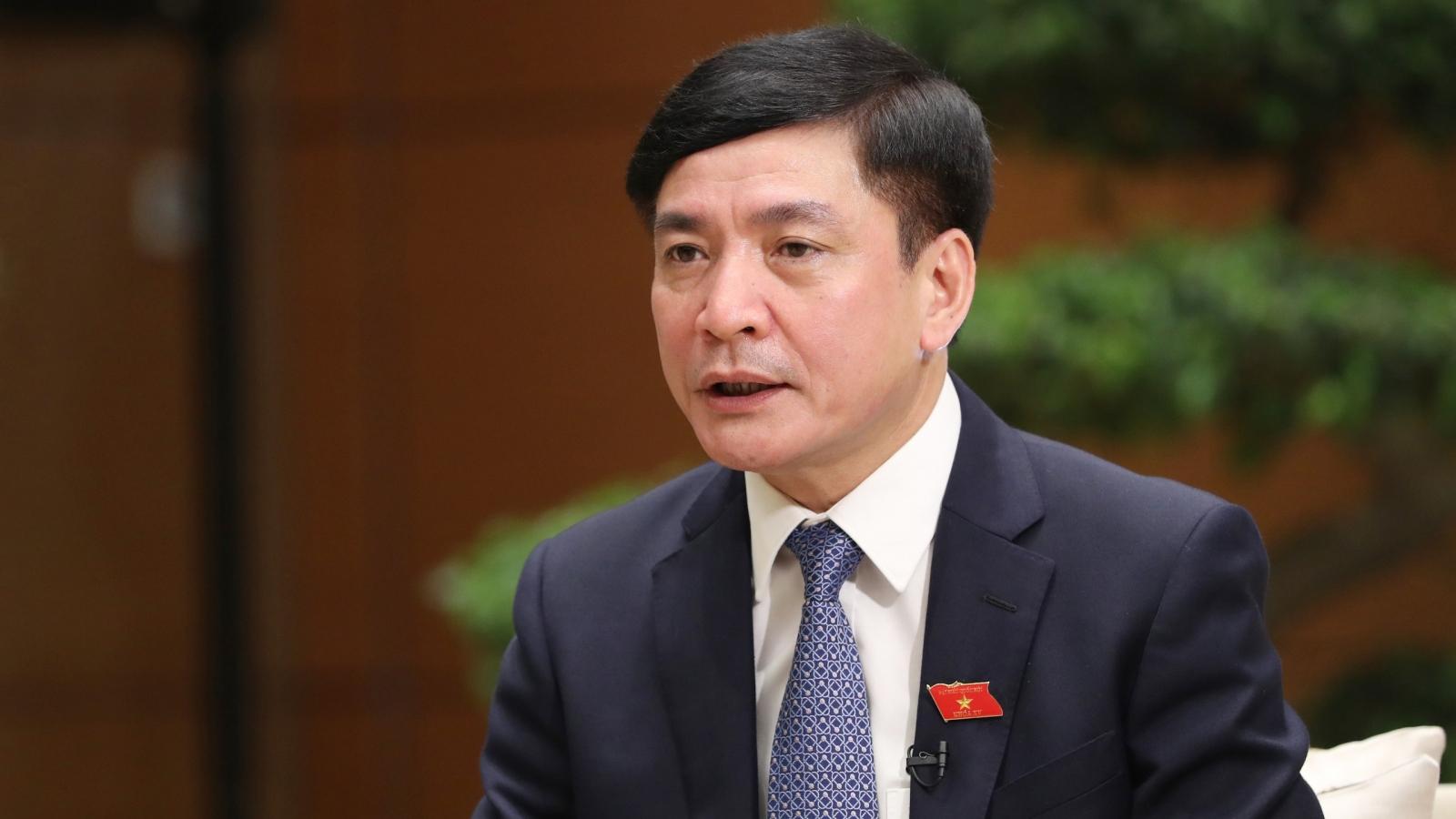 Tổng Thư ký Quốc hội: Tình huống cấp bách cần trình tự giải quyết đặc biệt