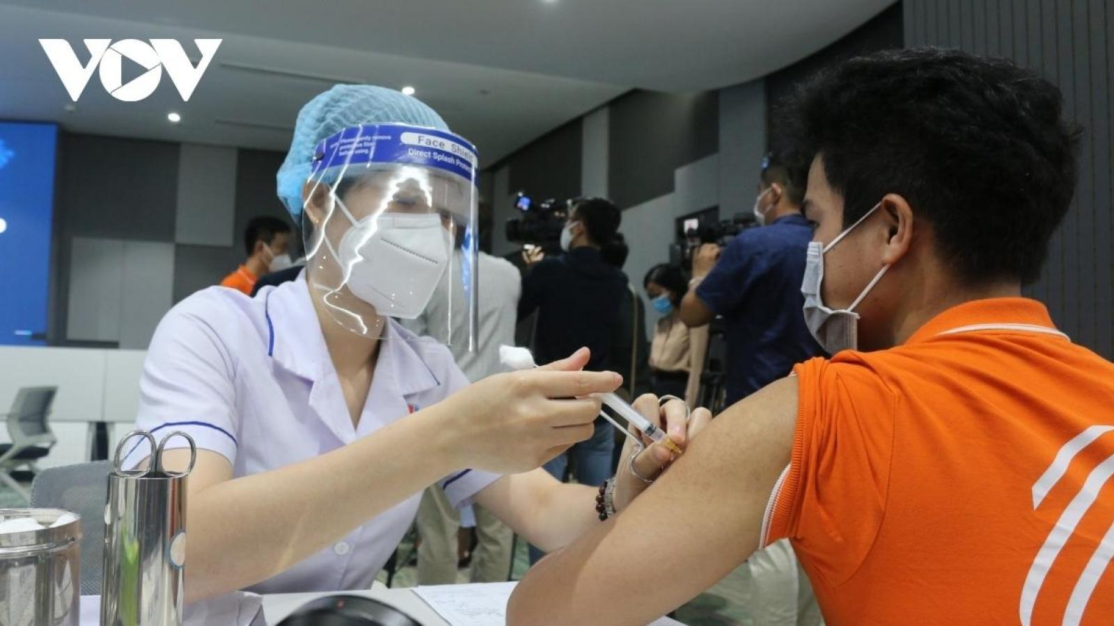 Vingroup builds COVID-19 vaccine production line