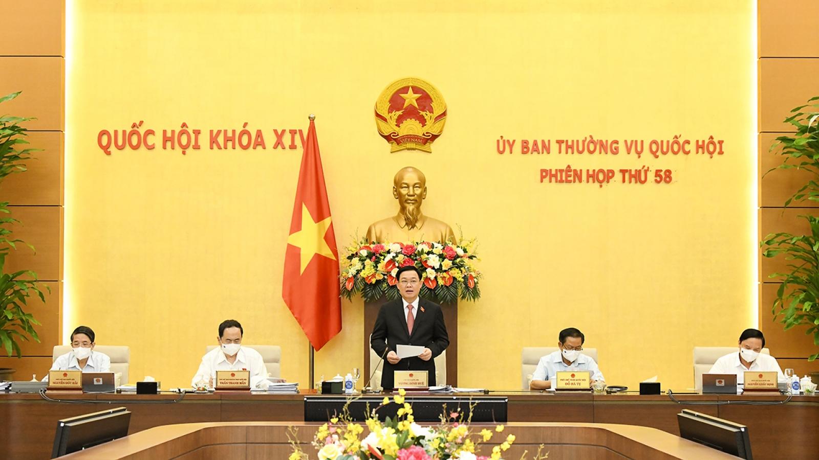 Tại kỳ họp thứ nhất, Quốc hội sẽ bầu hoặc phê chuẩn các chức danh lãnh đạo chủ chốt