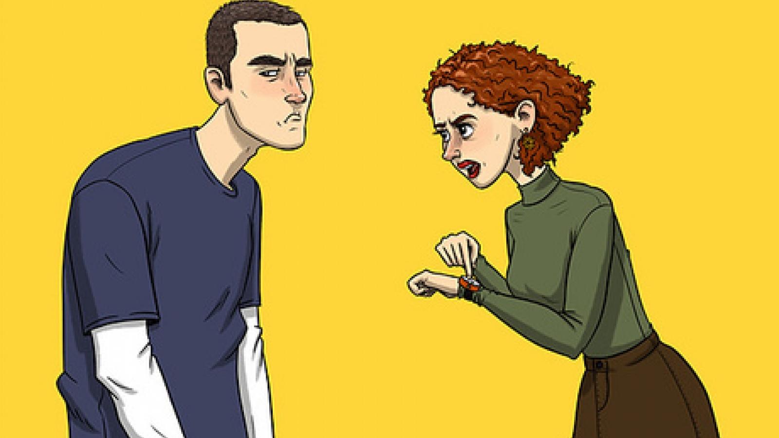 """Ranh giới giữa """"quan tâm"""" và """"kiểm soát"""" trong một mối quan hệ"""