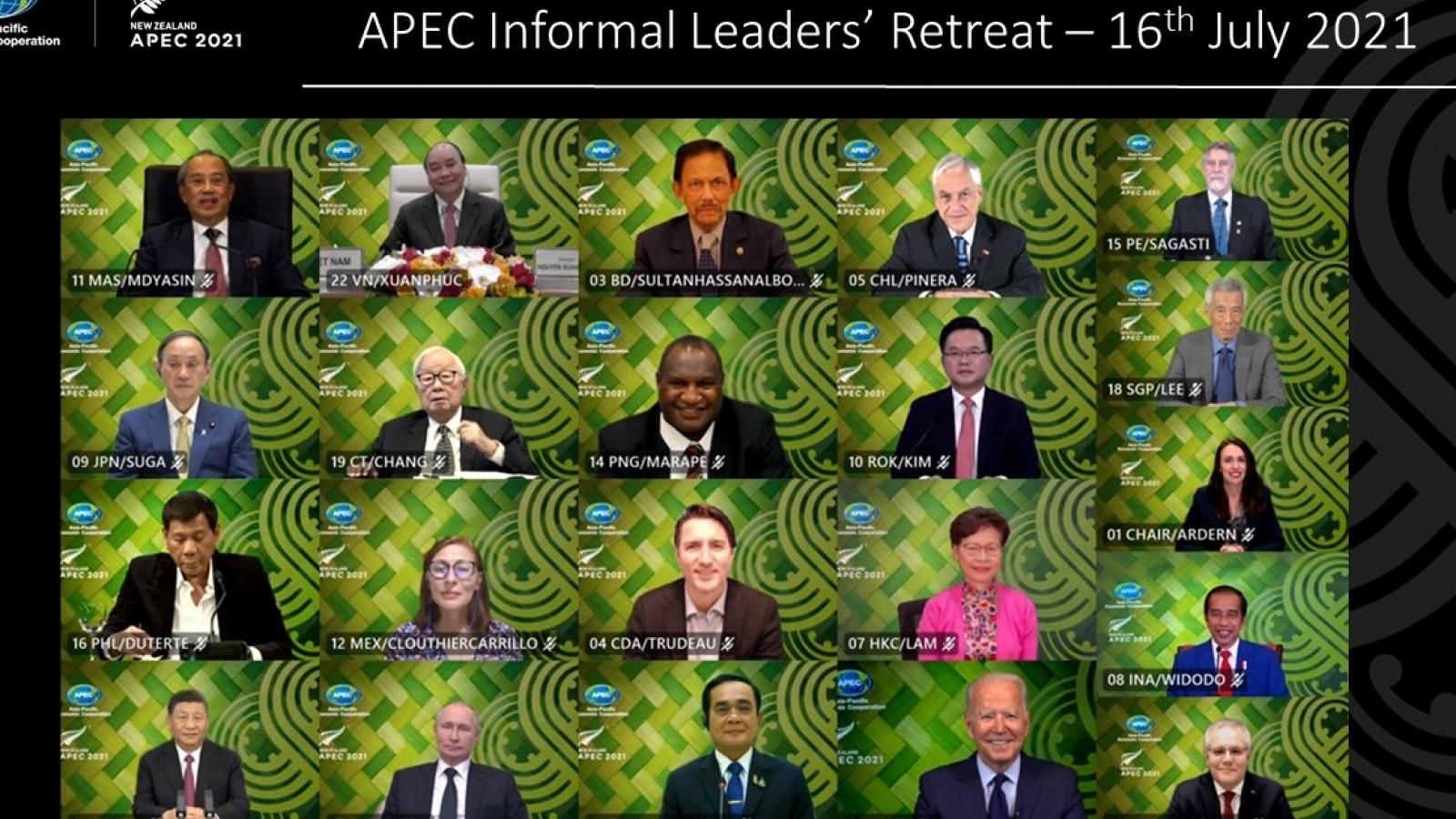 APEC cam kết vượt qua chủ nghĩa dân tộc, tăng gấp đôi nỗ lực cung ứng vaccine Covid-19