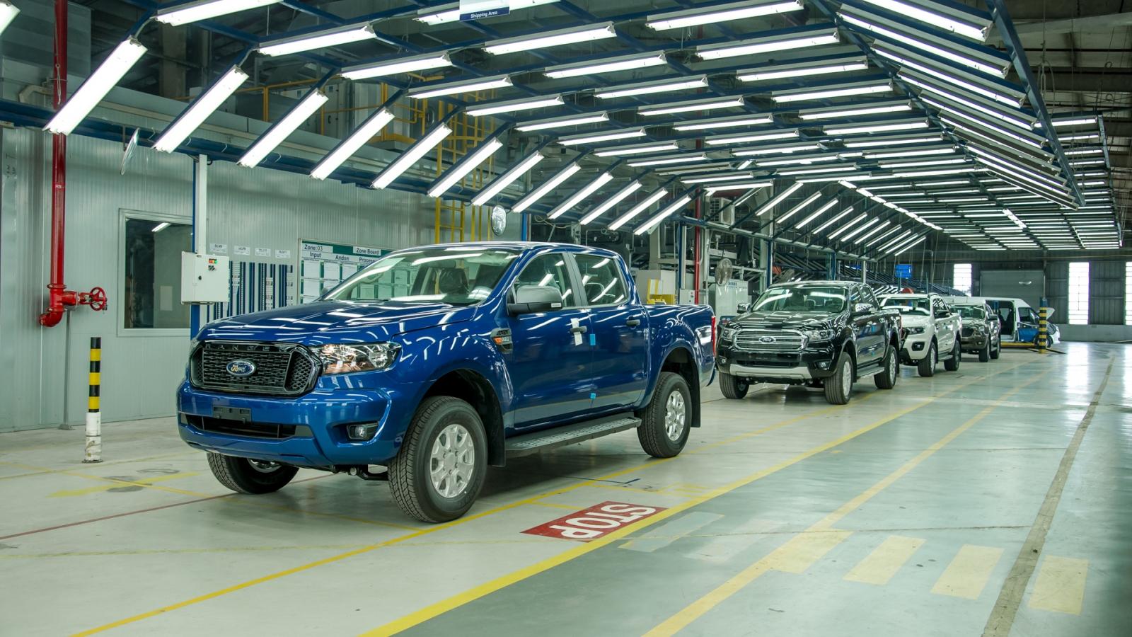 Chất lượng Ford Ranger lắp ráp tại Việt Nam ra sao so với Thái Lan?