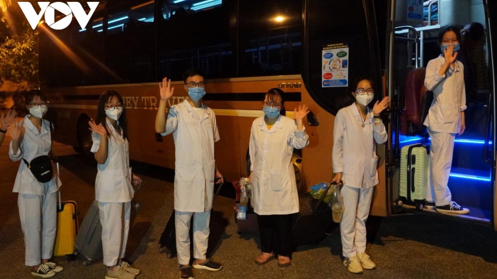 Sinh viên Hải Dương tình nguyện chống dịch tại TP.HCM: Rất cần trao đổi và cảm thông