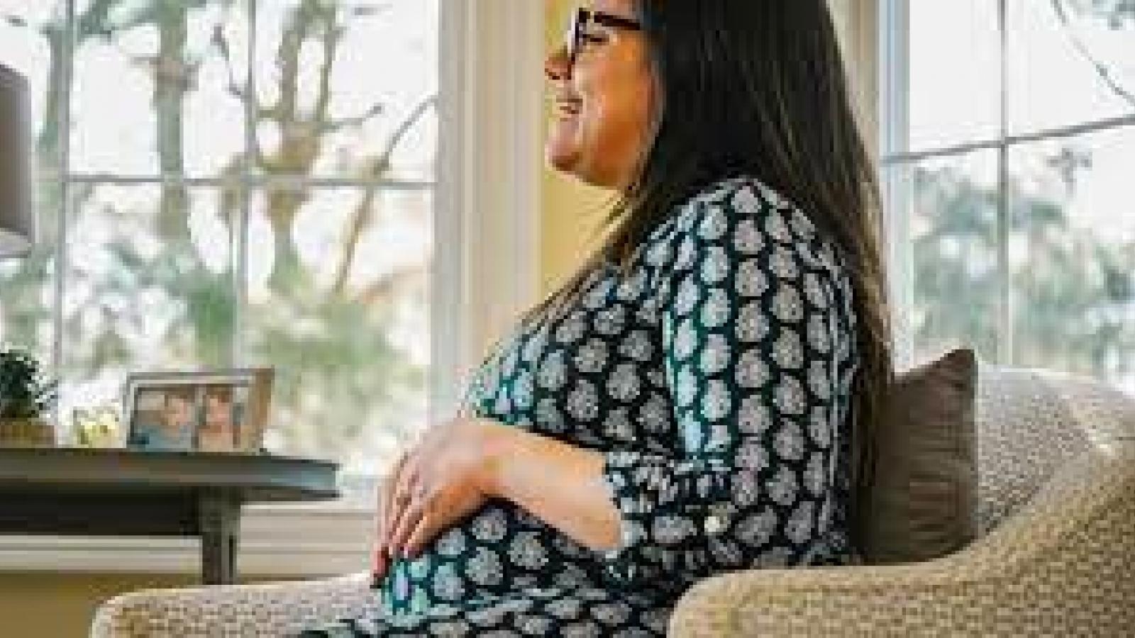 Phụ nữ hạnh phúc hơn trong quá trình mang thai