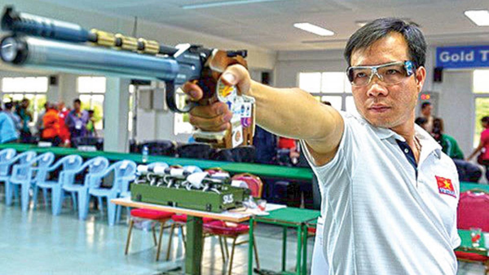 Marksman Hoang Xuan Vinh to compete at upcoming Tokyo Olympics
