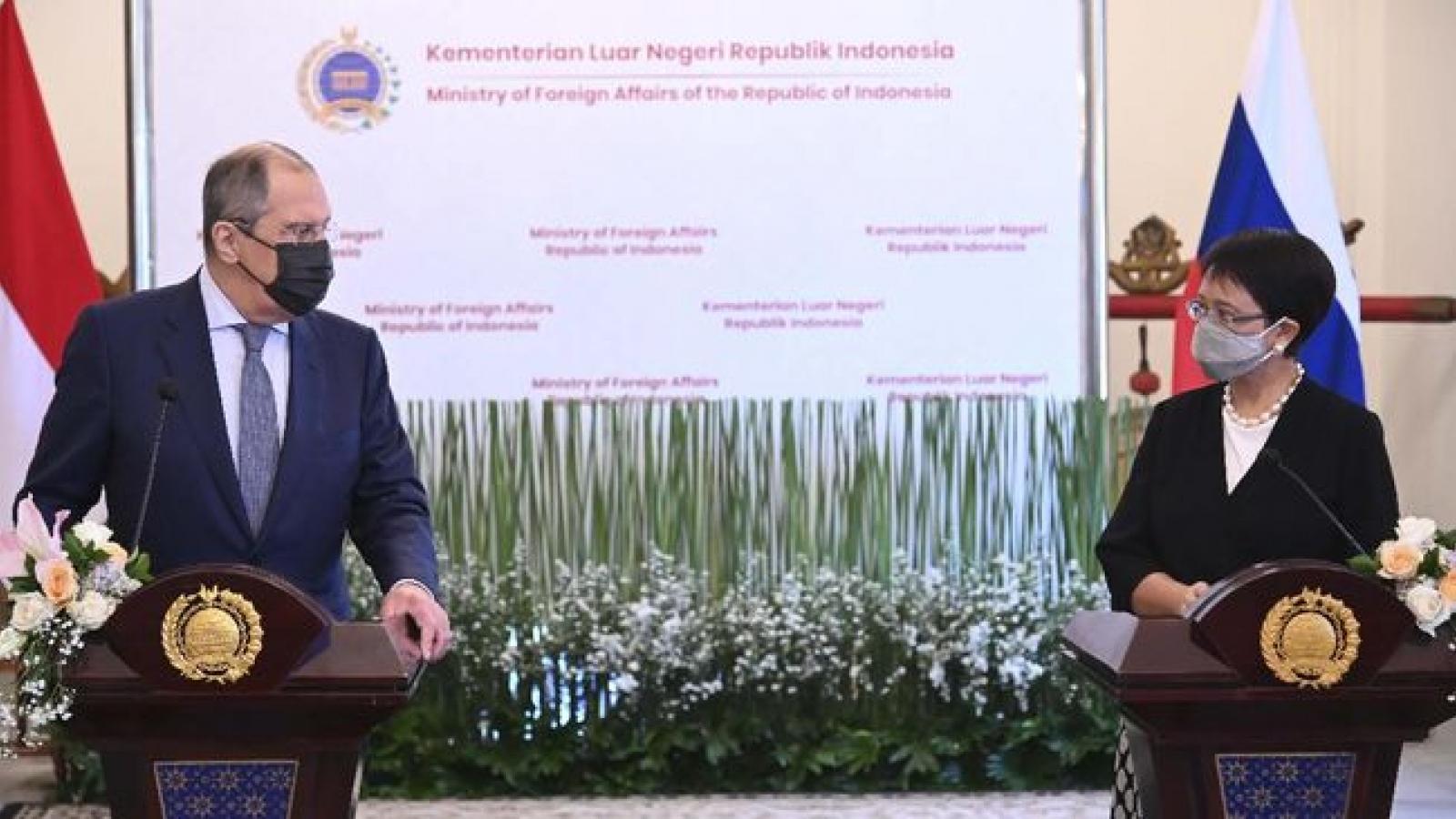 Indonesia và Nga tăng cường hợp tác y tế và sản xuất vaccine Covid-19