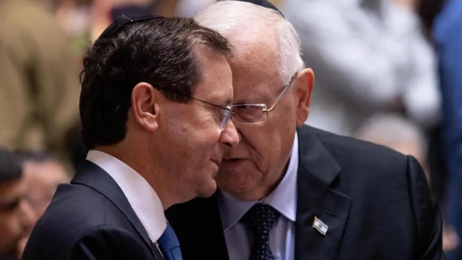 Ông Isaac Herzog tuyên thệ nhậm chức tổng thống thứ 11 của Israel