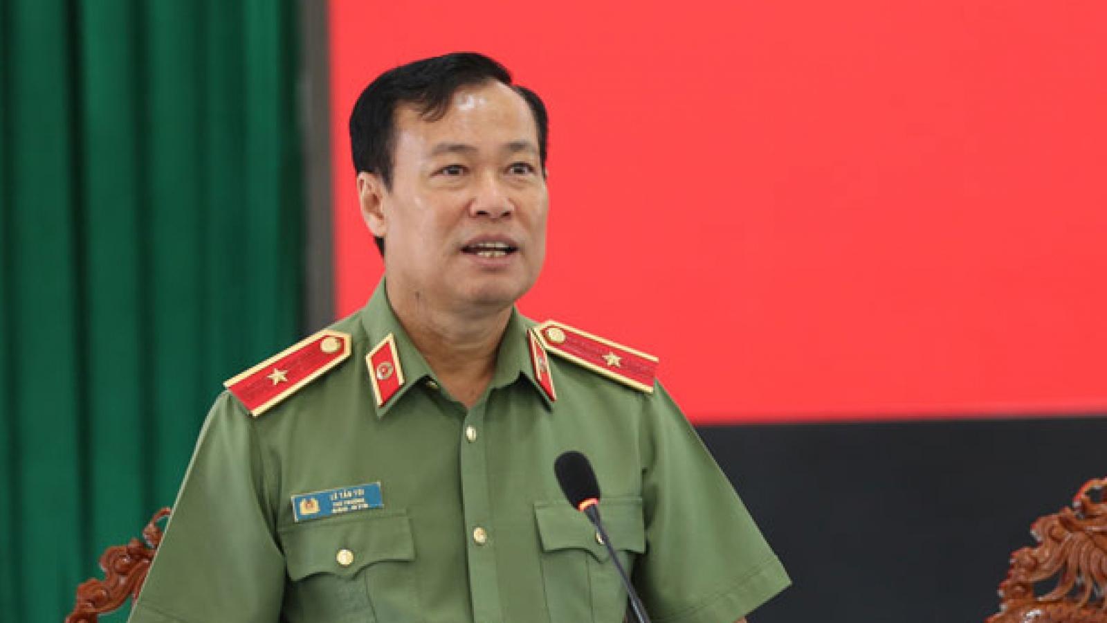 Thiếu tướng Lê Tấn Tới giữ chức Chủ nhiệm Ủy ban Quốc phòng – An ninh của Quốc hội
