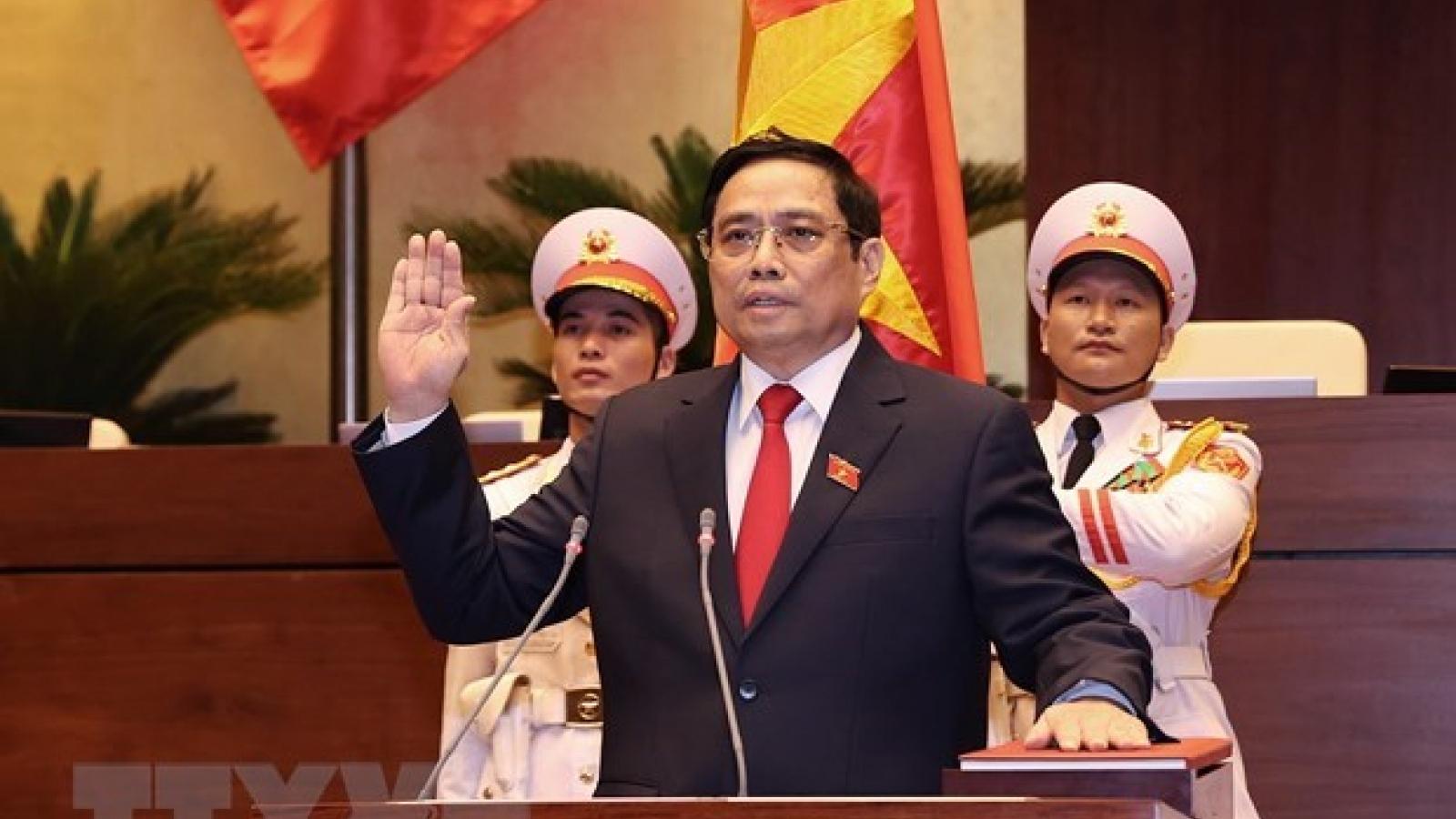 DPRK Cabinet Premier congratulates newly-elected Vietnamese PM