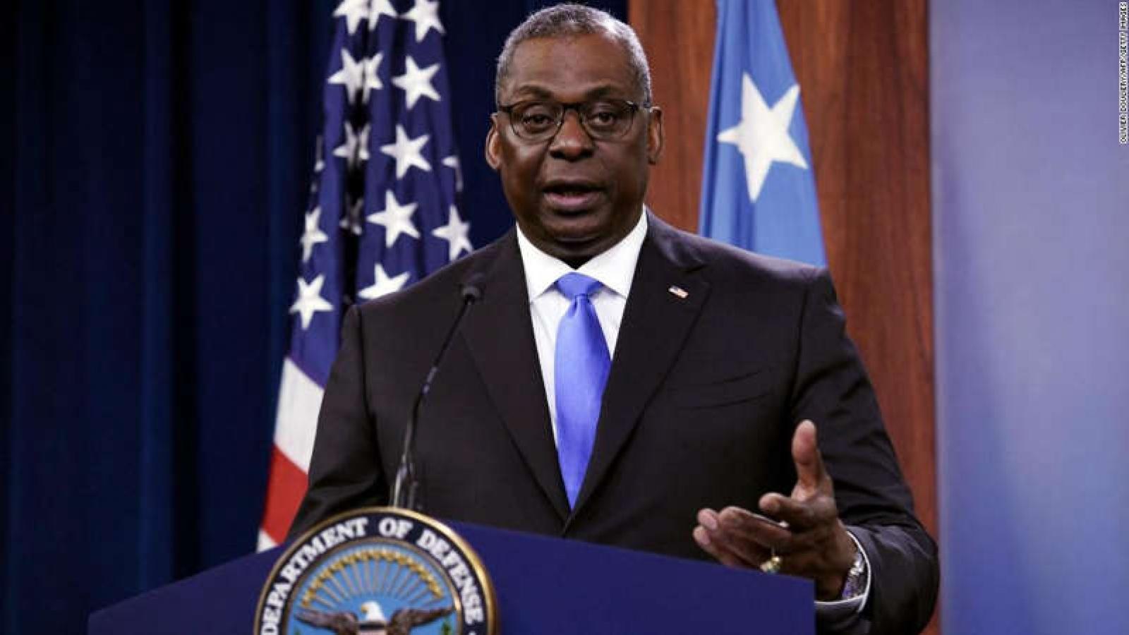 Bộ trưởng Mỹ Austin: Yêu sách của Trung Quốc ở Biển Đông không có cơ sở luật pháp quốc tế