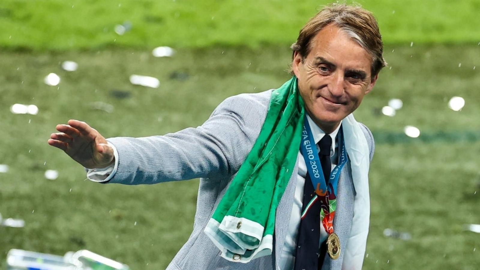 Italia vô địch EURO 2021: HLV Mancini viết lại lịch sử cho Azzurri từ đám tro tàn