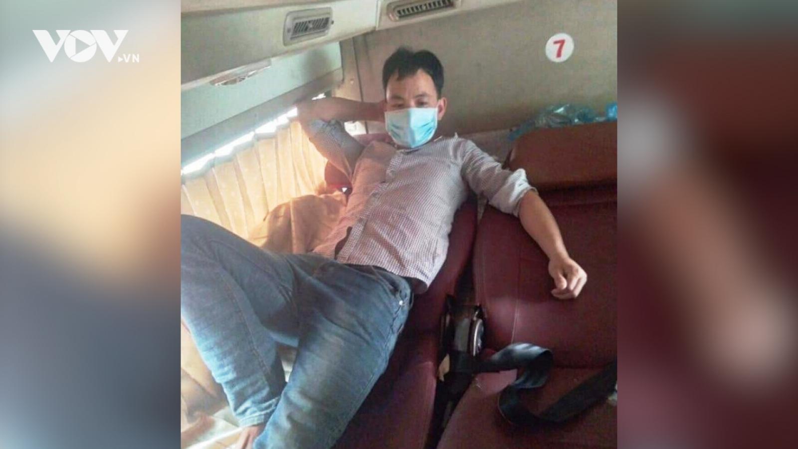 Nóng 24h: Tìm thấy F0 trốn khỏi khu điều trị trên xe khách Mỹ Đình - Hà Giang