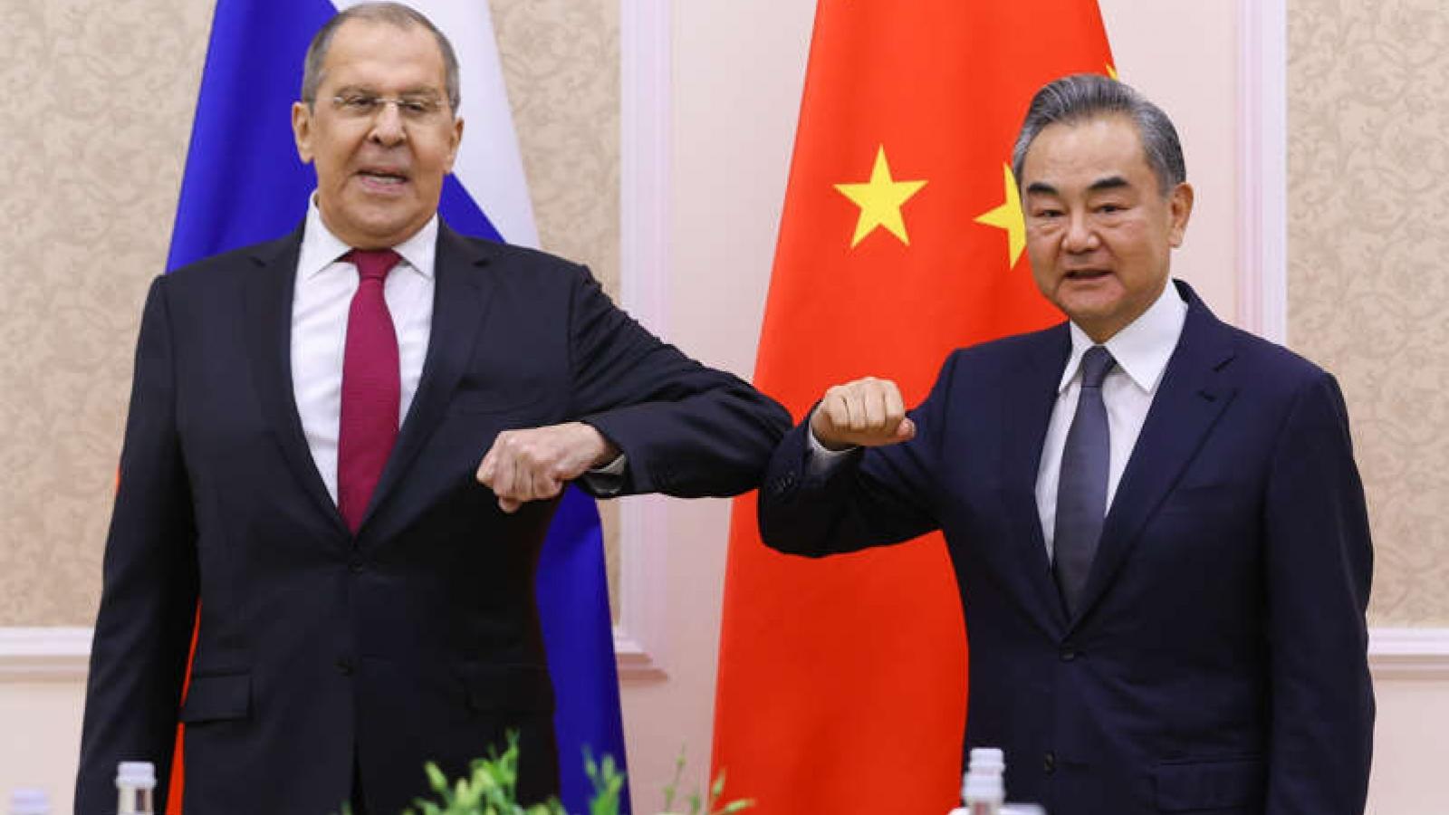"""""""Quan hệ Nga - Trung gần gũi hơn bất kỳ liên minh nào trong Chiến tranh Lạnh"""""""