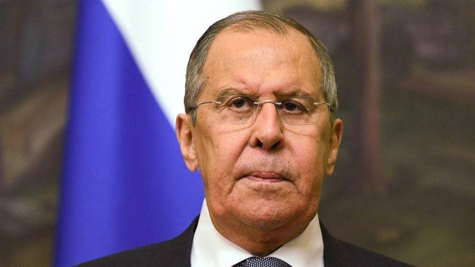 Ngoại trưởng Lavrov: Nga sẽ đáp trả mạnh mẽ những bước đi không thân thiện của Mỹ