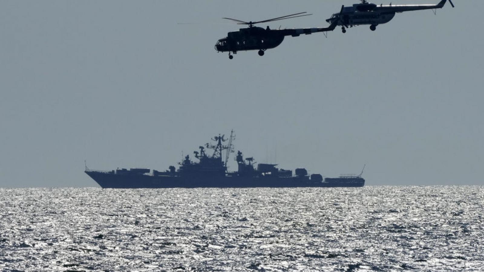 Nga: Nỗ lực của phương Tây nhằm thách thức Nga ở Biển Đen sẽ thất bại