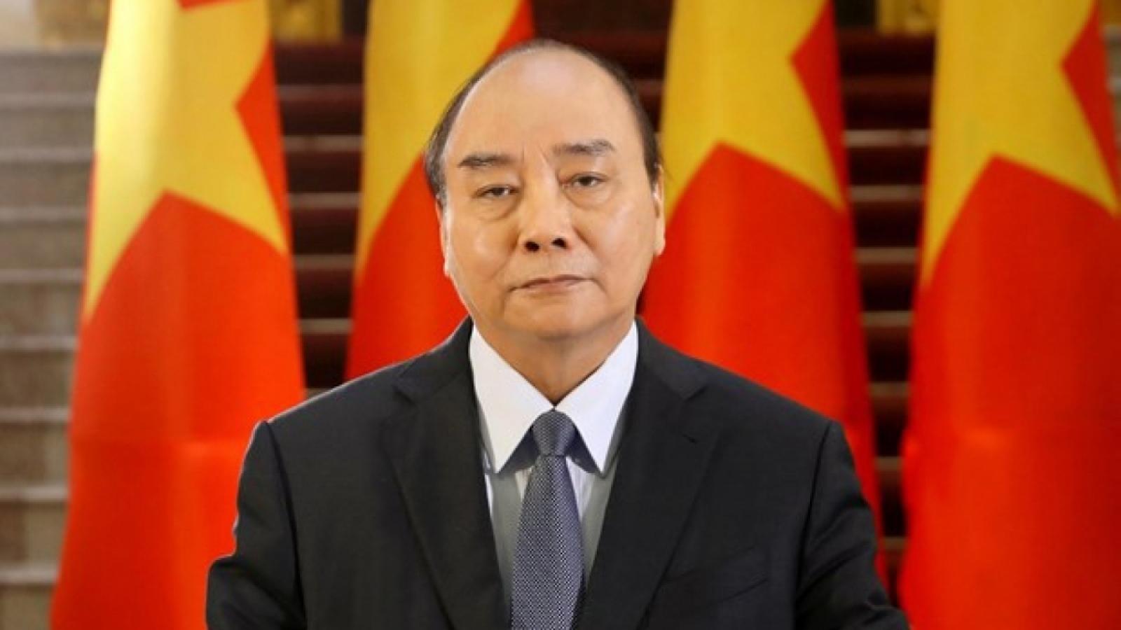 Chủ tịch nước gửi thư tới Thủ tướng Nhật Bản chúc mừng về sự kiện Olympic