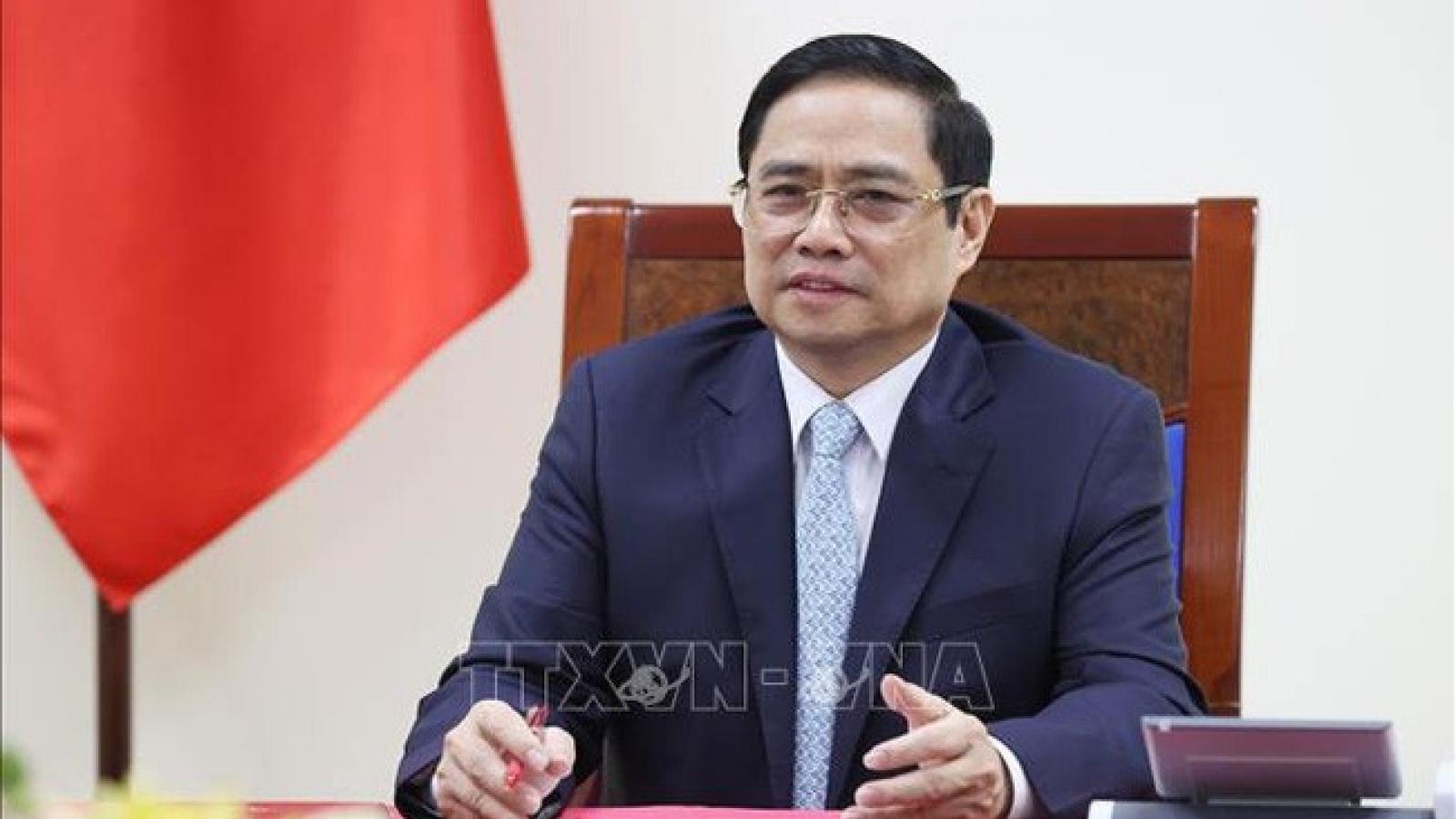 Thủ tướng Campuchia Hun Sen gửi thư chúc mừng Thủ tướng Chính phủ Phạm Minh Chính