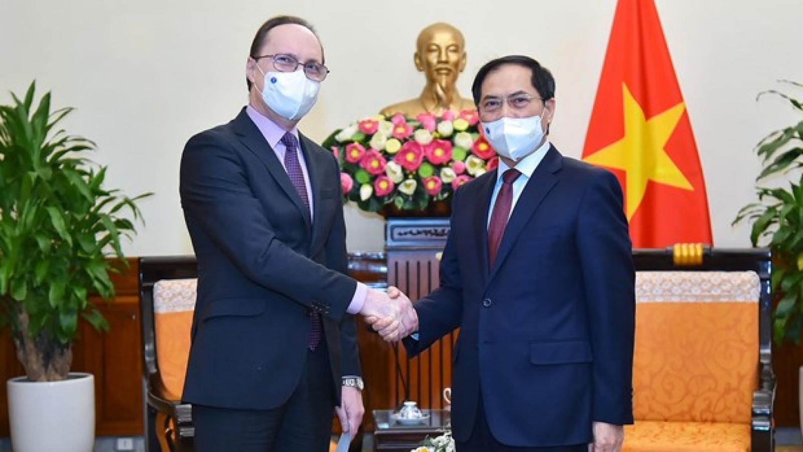 Vietnam treasures comprehensive strategic partnership with Russia: FM
