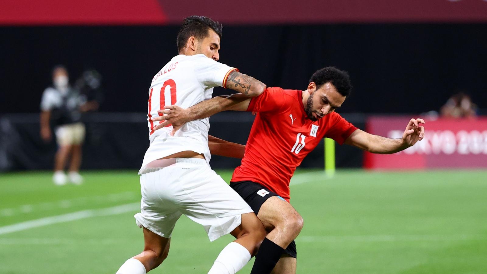Hàng công nhạt nhòa, Tây Ban Nha bị Ai Cập cầm hòa thất vọng ngày ra quân Olympic Tokyo