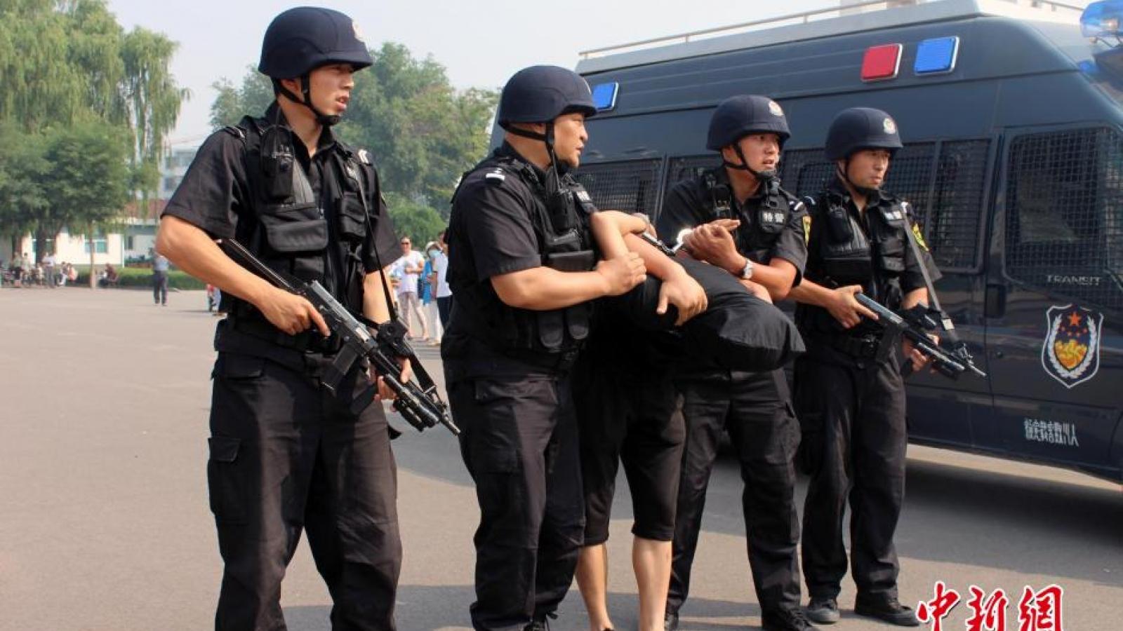 Trung Quốc tuyên bố tiêu diệt hơn 1.900 nhóm bạo lực khủng bố