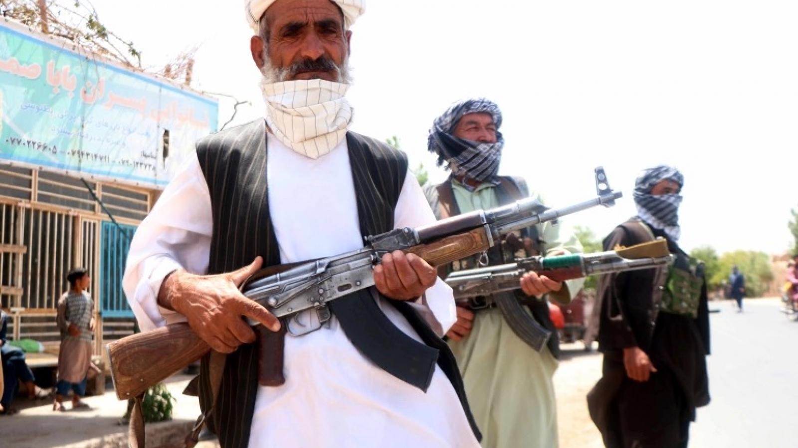 Mỹ lo ngại Afghanistan có thể rơi vào vòng xoáy nội chiến