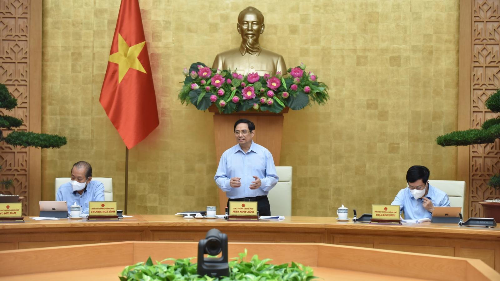 Thủ tướng chủ trì họp khẩn với Ban Chỉ đạo Quốc gia phòng, chống COVID-19