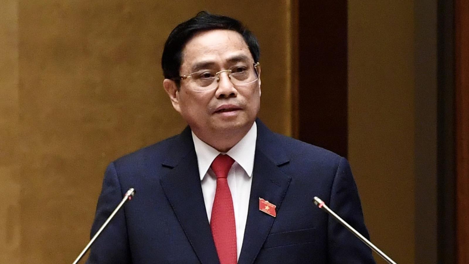 Thủ tướng trình Quốc hội số lượng thành viên Chính phủ, giảm 1 Phó Thủ tướng