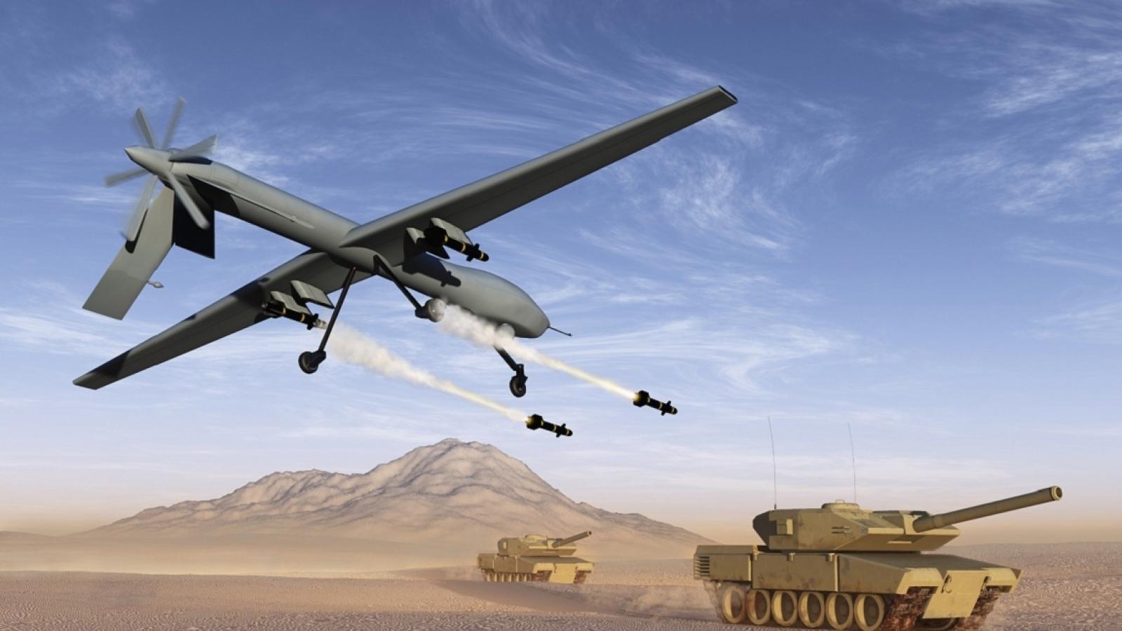 Quân đội Ấn Độ rúng động trước đòn đánh lợi hại bằng UAV của kẻ thù giấu mặt