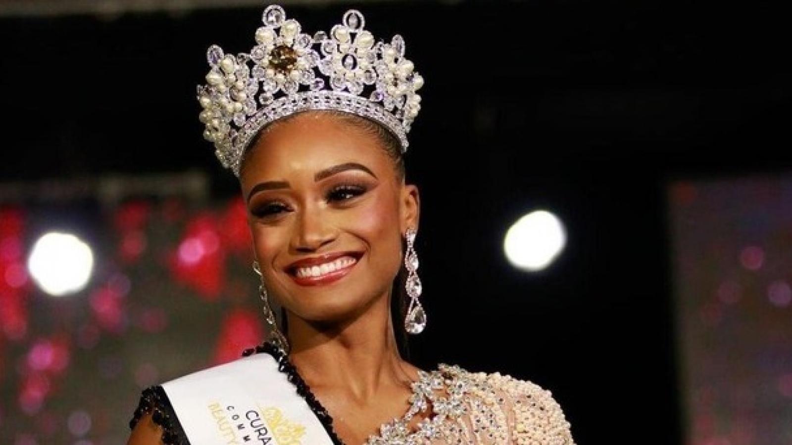 Vẻ đẹp nổi bật của tân Hoa hậu Hoàn vũ Curacao 2021