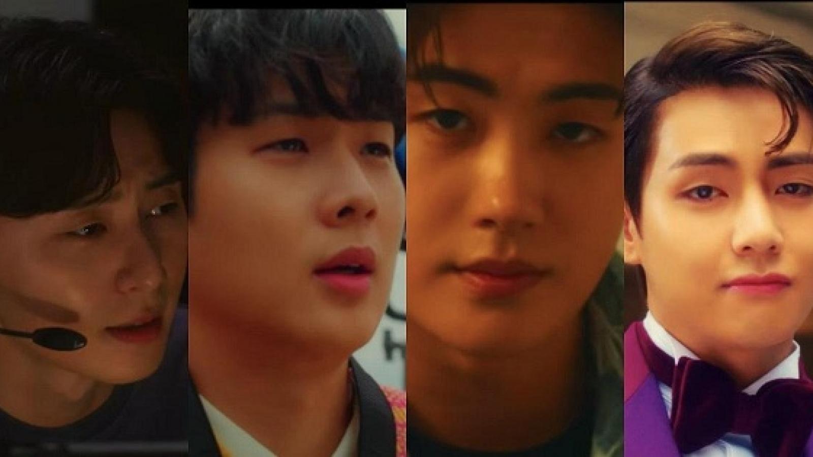 Hội bạn thân V (BTS), Park Seo Joon, Choi Woo Sik rủ nhau đóng MV