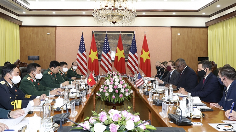 Vietnam, US agree to beef up defence cooperation