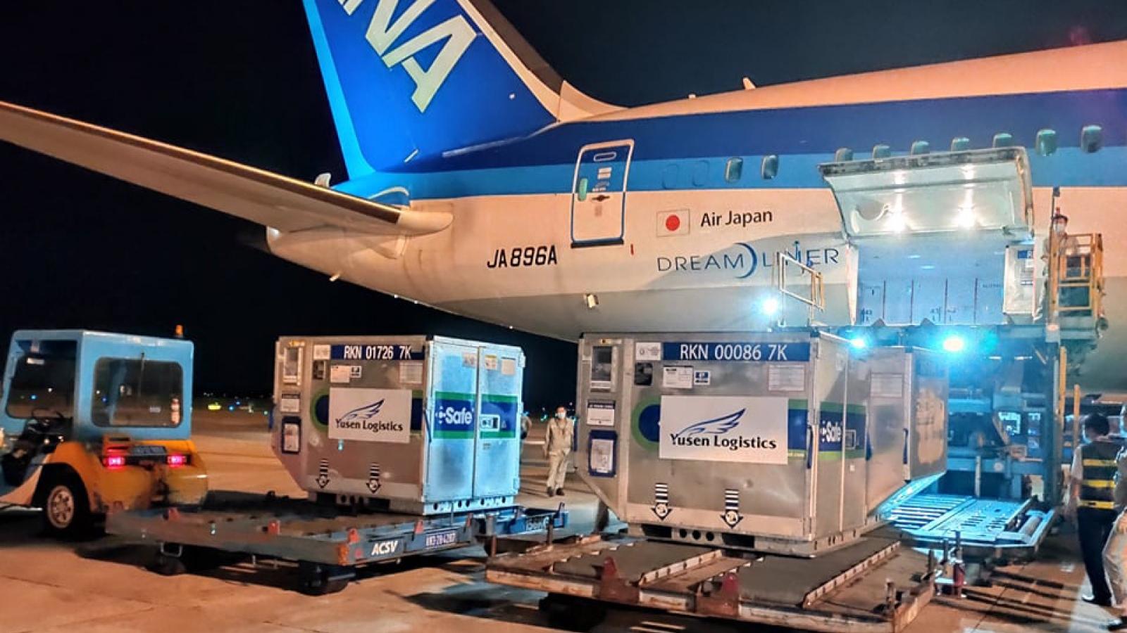 Japan donates another 1 million doses of AstraZeneca vaccine to Vietnam