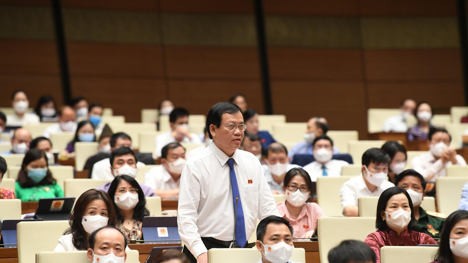 Đại biểu Quốc hội đề nghị giám sát gói hỗ trợ Covid-19, bổ nhiệm cán bộ