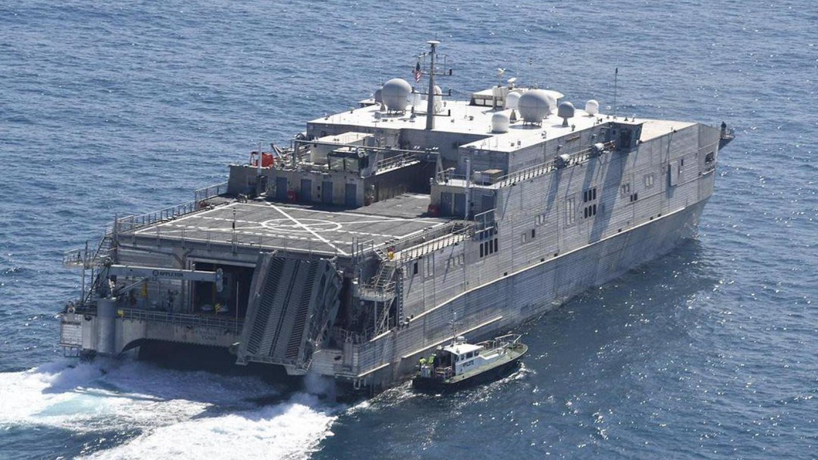 Mỹ điều tàu tấn công đổ bộ giữa lúc Nga cảnh báo căng thẳng nguy hiểm trên Biển Đen