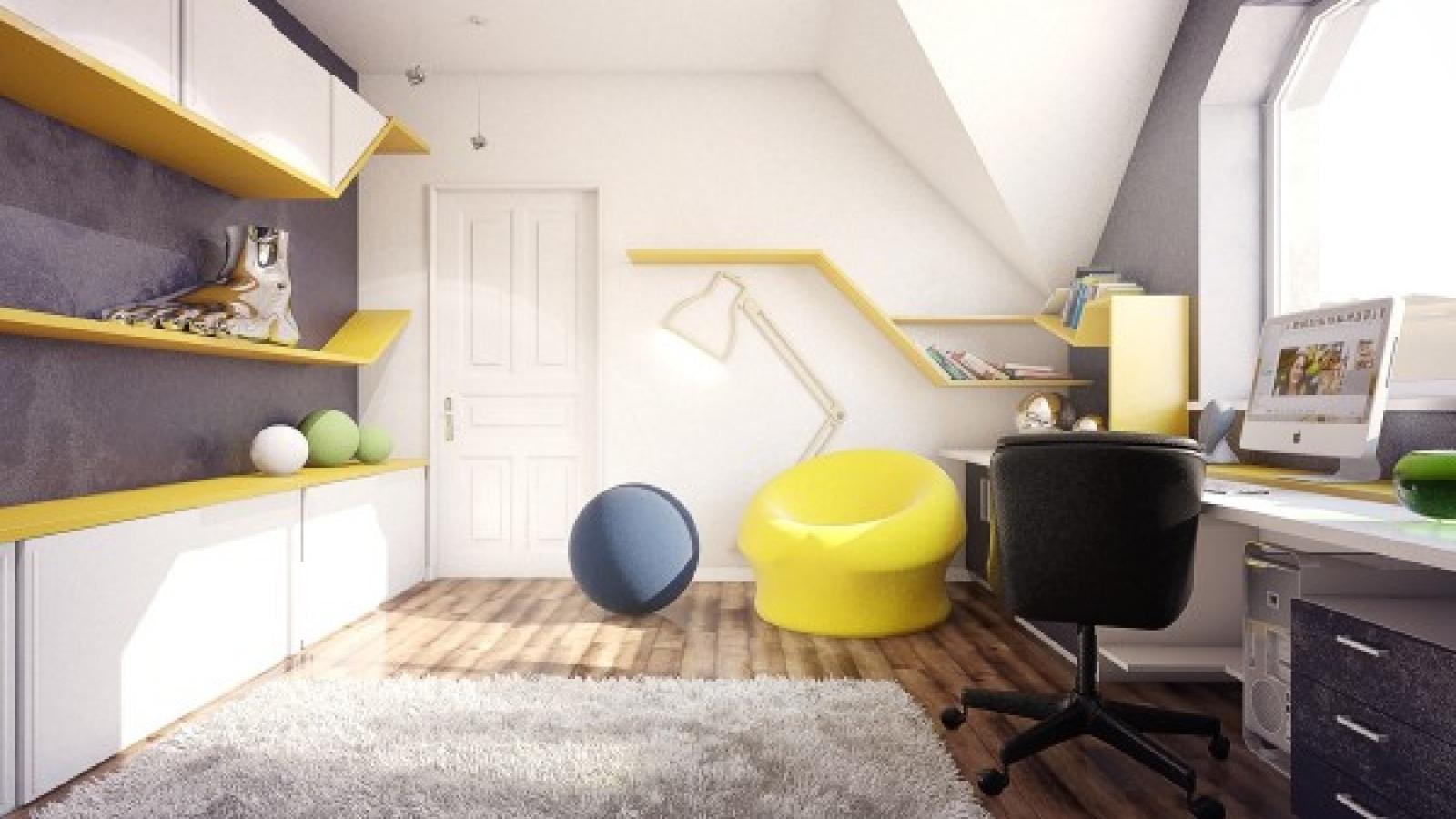 Những mẫu phòng ngủ đầy sáng tạo mà bạn nhỏ nào cũng thích