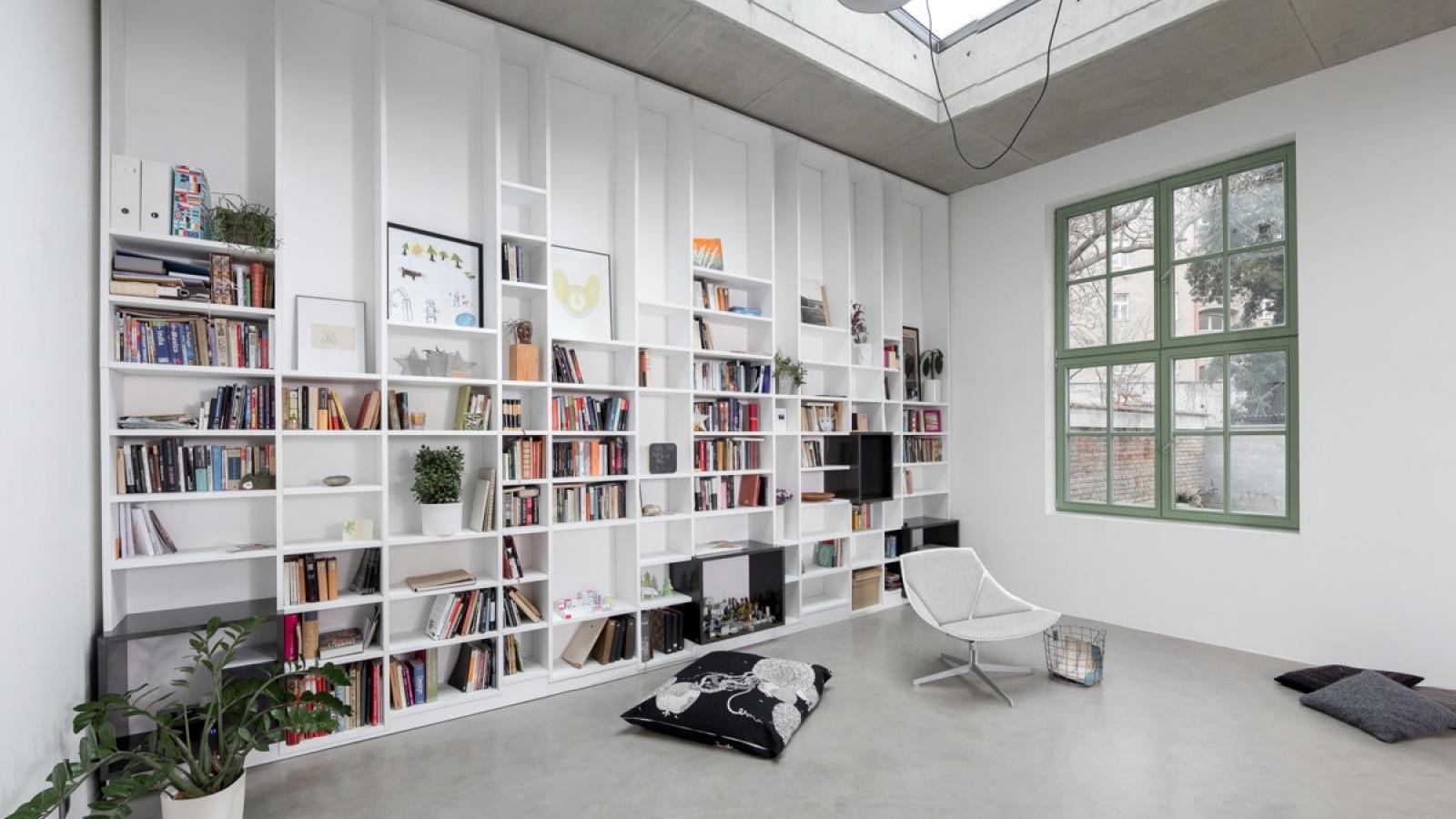 Mê mẩn với những ý tưởng thiết kế thư viện gia đình đầy sáng tạo
