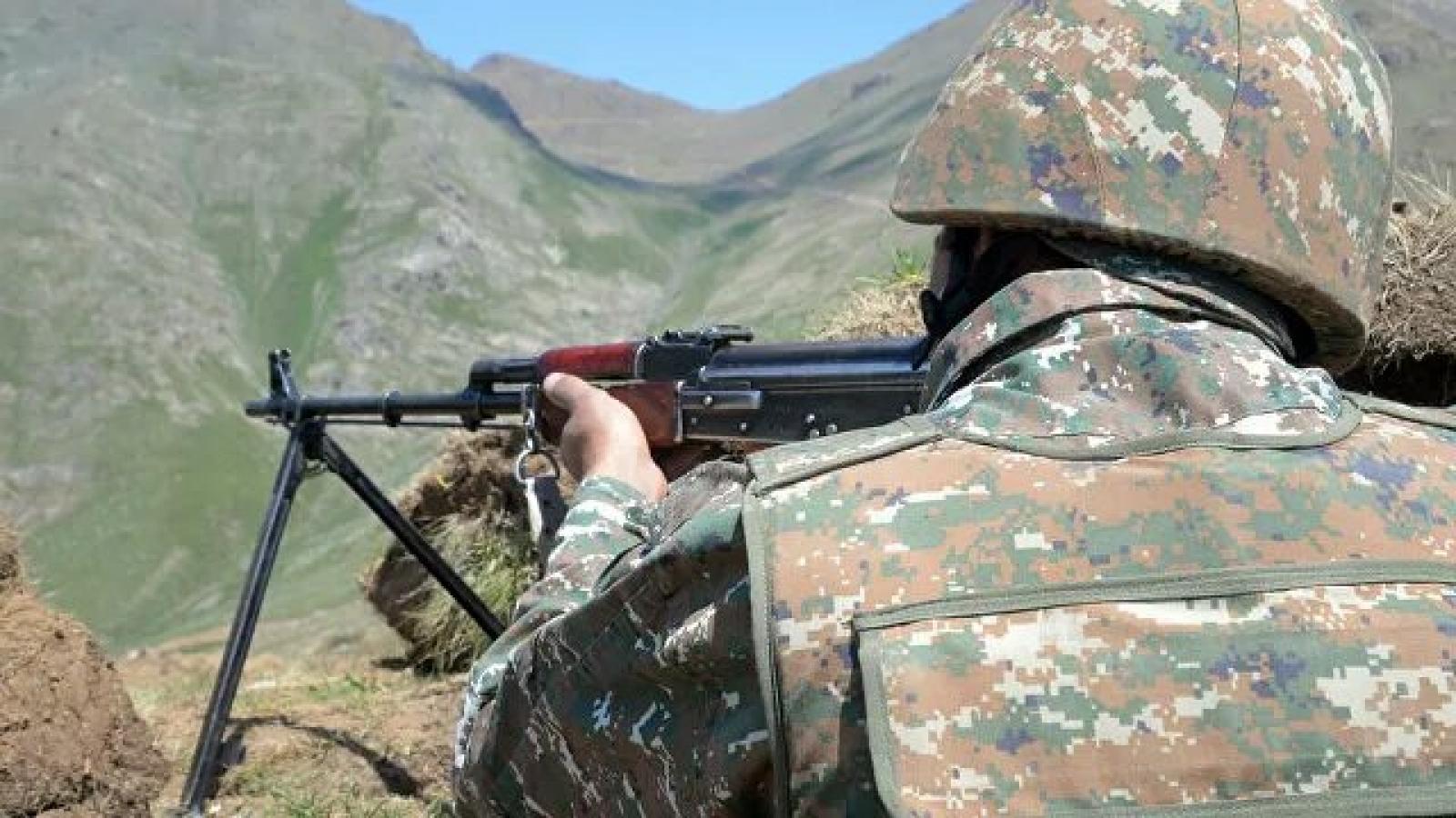 Armenia cáo buộc Azerbaijan về các vụ pháo kích mới