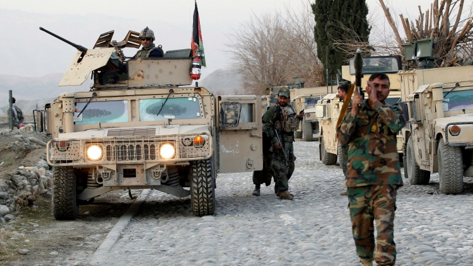 Chính quyền Afghanistan ban bố giới nghiêm ban đêm tại 31 tỉnh