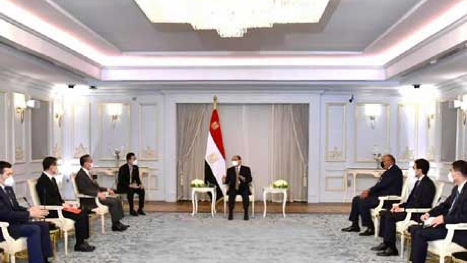 Trung Quốc tăng cường quan hệ đối tác chiến lược với Ai Cập