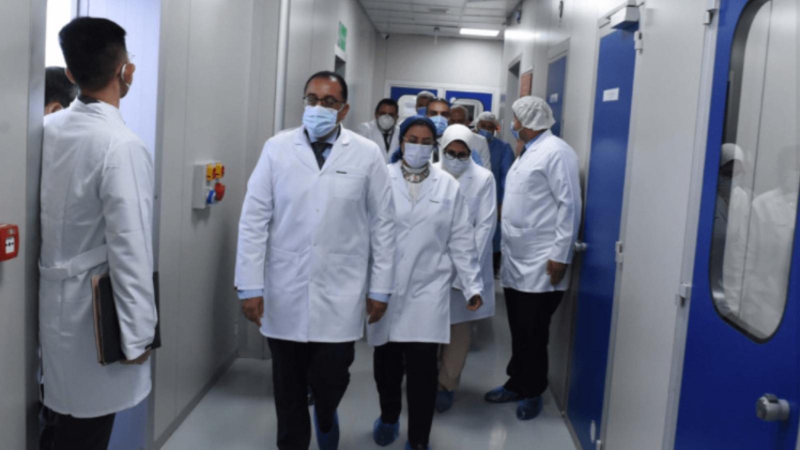 Ai Cập tự cung tự cấp trong sản xuất vaccine ngừa Covid-19